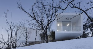 Viewing Pavilion on Hill  – Trace  Architecture Office