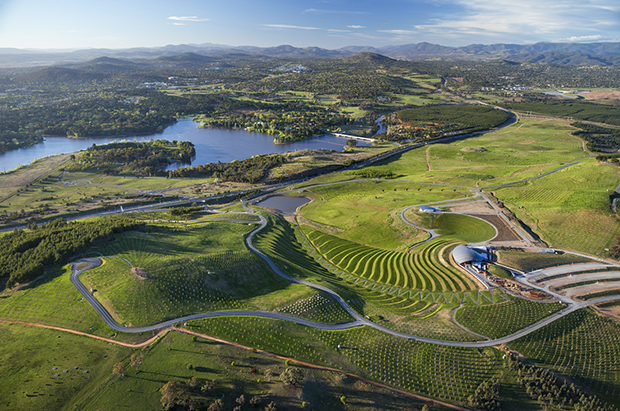 National arboretum camberra taylor for Landscape design canberra