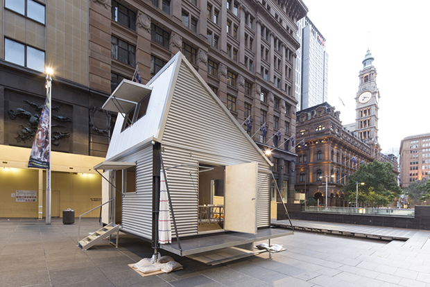 GRID temporary housing – Carterwilliamson architects