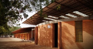 Gando School Library, Kéré Architecture.