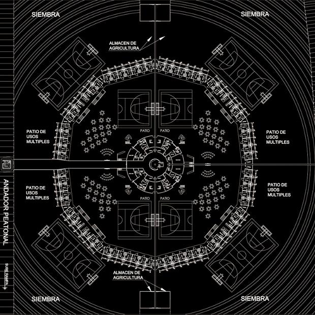 5 - CEFERESO panopticon plan