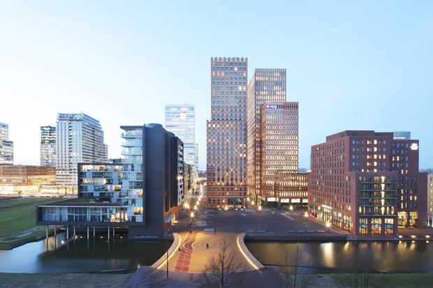 Dok architecten / brug gershwinplein amsterdam