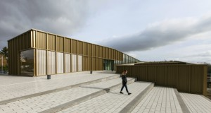 Cultural Center, Media Library, Music & Dance School – Ateliers O-S architectes