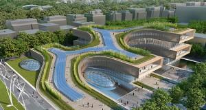 City of Science in Rome – Paolo Colarossi, Vincent Callebaut, Marco Maria Sambo, Coffice, Studio Briguglio-Morales.