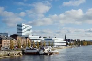 Kulturväven Umeå, White / Snøhetta