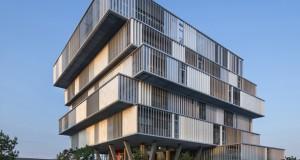 Platform Architectures – Construction of Aquitanis Headquarters in Bordeaux, 2013