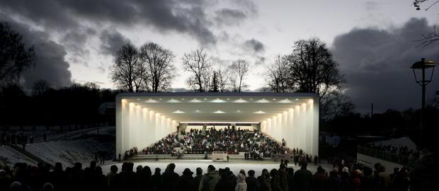 Kadarik Tüür Arhitektid  – Viljandi Festival Arena, 2013