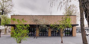 DO architects – Foodcourt and Square – 2014