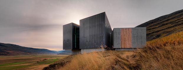 ARKÍS arkitektar -Sneafellstofa Vistitor Center, Skriduklaustur í Fljótsdal 2010