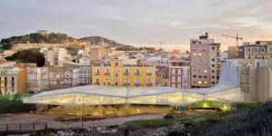 Amann-Canovas-Maruri – Deck over a roman site in Cartagena, 2011