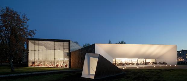 JKMM Architects – Sein joki Library, 2012