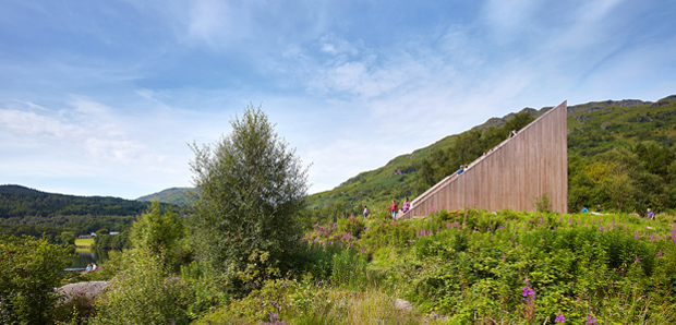 BTE ARCHITECTURE – The Pyramid Viewpoint, Inveruglas – 2015