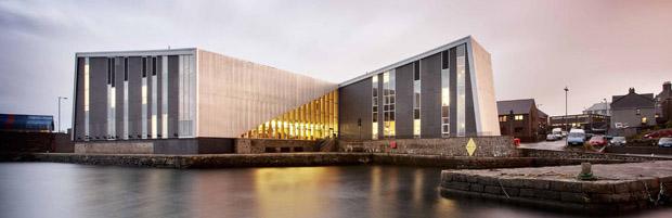 Hoskins Architects – Mareel Cinema and Music Venue, 2012